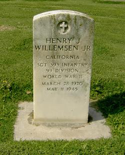 Sgt Henry J Willemsen Jr.