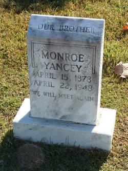 Monroe Yancey