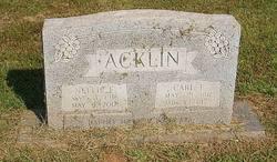 Nellie Faye <I>Johnson</I> Acklin