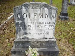 Thomas Henry Coleman