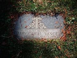 Mary Louise <I>Cahill</I> Vance