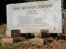 Stone Mountain Cemetery