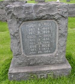 Hugh B Rice
