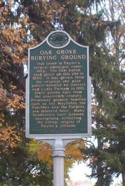 Oak Grove Burying Ground