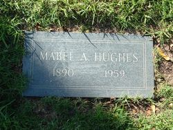 Mabel Ann <I>Tracy</I> Hughes