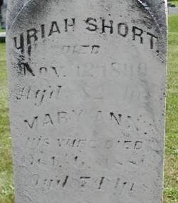 Mary Ann <I>Nichols</I> Short