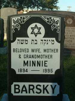 Minnie Barsky