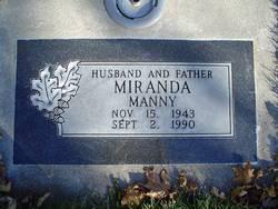 """Manuel Espenosa """"Manny"""" Miranda"""