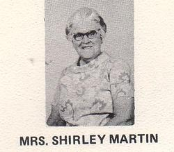 "Shirley Maude ""Marty"" <I>Burhoe</I> Martin"