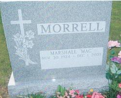 """Marshall J. """"Mac"""" Morrell"""