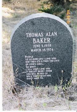 Thomas Alan Baker
