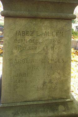 Caroline Conklin <I>Mills</I> Allen