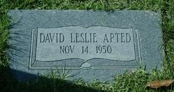 David Leslie Apted