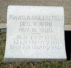 Isaac A Goldstein