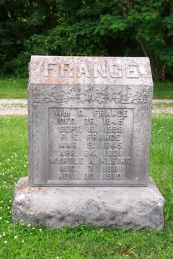 Myrtle A <I>France</I> Kleine