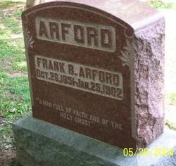"""Franklin B. """"Frank"""" Arford"""