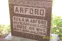 Rev Albert Wade Arford