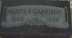 Agnes F <I>Hewitt</I> Garrison