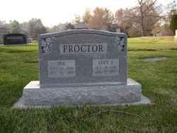 Lucy Ellen <I>Walker</I> Proctor