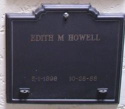 Edith M Howell