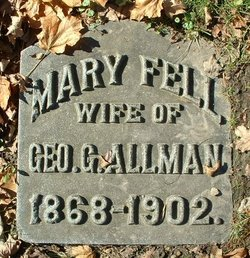 Mary <I>Fell</I> Allmon