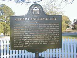 Cedar Lane Cemetery