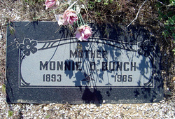 Monnie Denton <I>Russell</I> Bunch