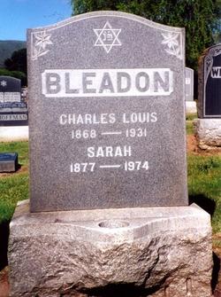 Charles Louis Bleadon