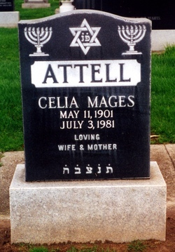 Celia <I>Fisher</I> Attell