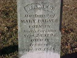 Sgt James C Barnes