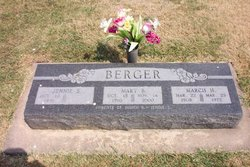 Mrs Mary Blanche <I>Reder</I> Berger