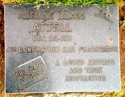 Adeline <I>Blass</I> Attell