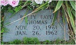 Betty Faye Thomas