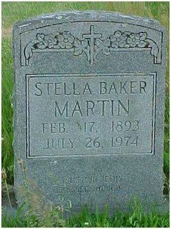 Stella <I>Baker</I> Martin