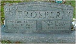 Cora <I>Dixon</I> Trosper