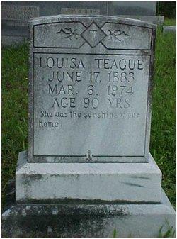 Louisa <I>Stewart</I> Teague