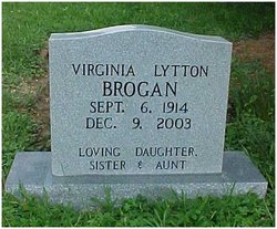 Virginia <I>Lytton</I> Brogan