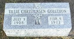 Tillie Sena <I>Christensen</I> Gollehon