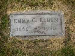 Emma Charlotta <I>Hulphers</I> Elmen