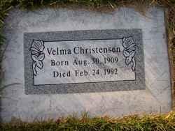 Velma <I>Brown</I> Christensen