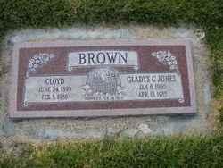 Gladys Clara <I>Jones</I> Brown