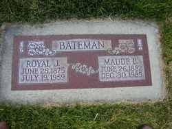 Maud Elizabeth <I>Brown</I> Bateman