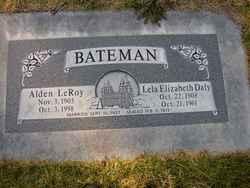 Lela Elizabeth <I>Daly</I> Bateman