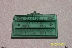 Margaret Frances <I>Palmer</I> Campbell