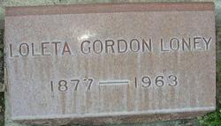 Loleta <I>Gordon</I> Loney