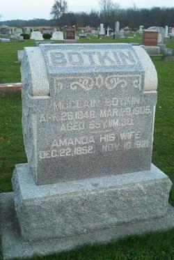 Amanda <I>Snyder</I> Botkin