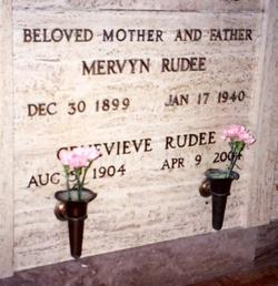 Mervyn Rudee