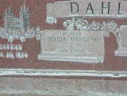 Maida <I>Mangum</I> Dahl