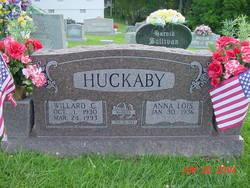 Anna Lois <I>Huff</I> Huckaby