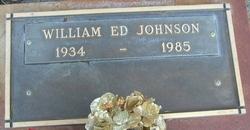 """William """"Ed"""" Johnson"""